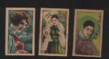 OLD CHINA Pretty ladies cigarette cards  #215